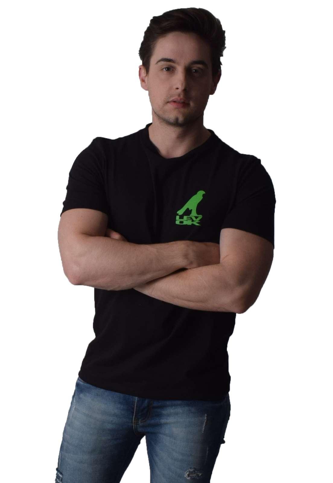 Camiseta Estampada Preta