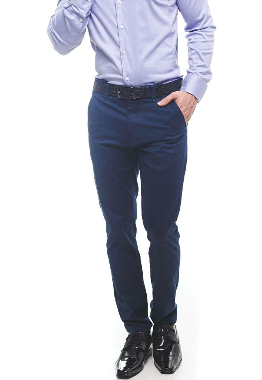 Calça Azul Marinho Masculina