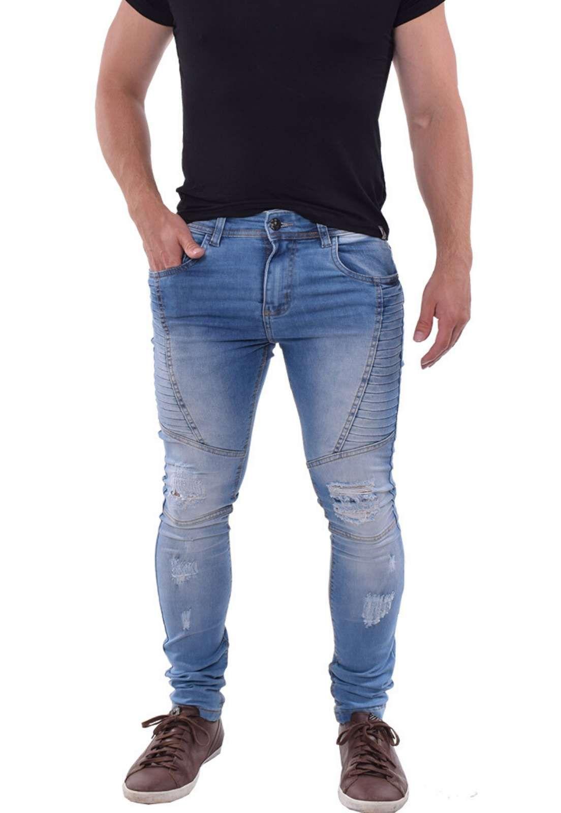 Calça Jeans Clara Masculina