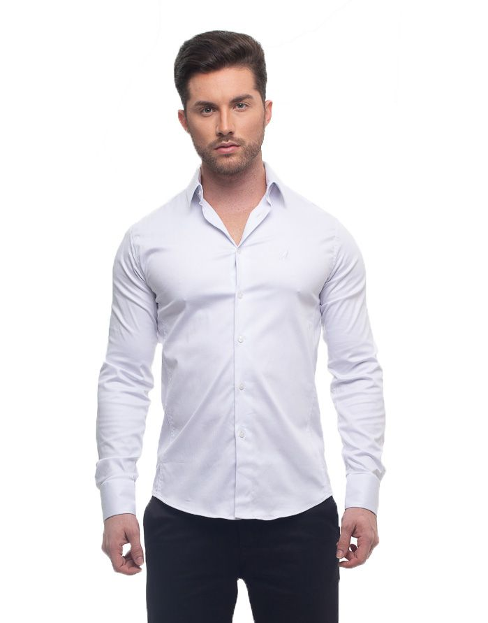 Camisa Branca Masculina