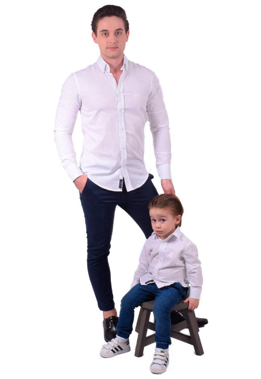 Camisa Social Masculina Slim Branca