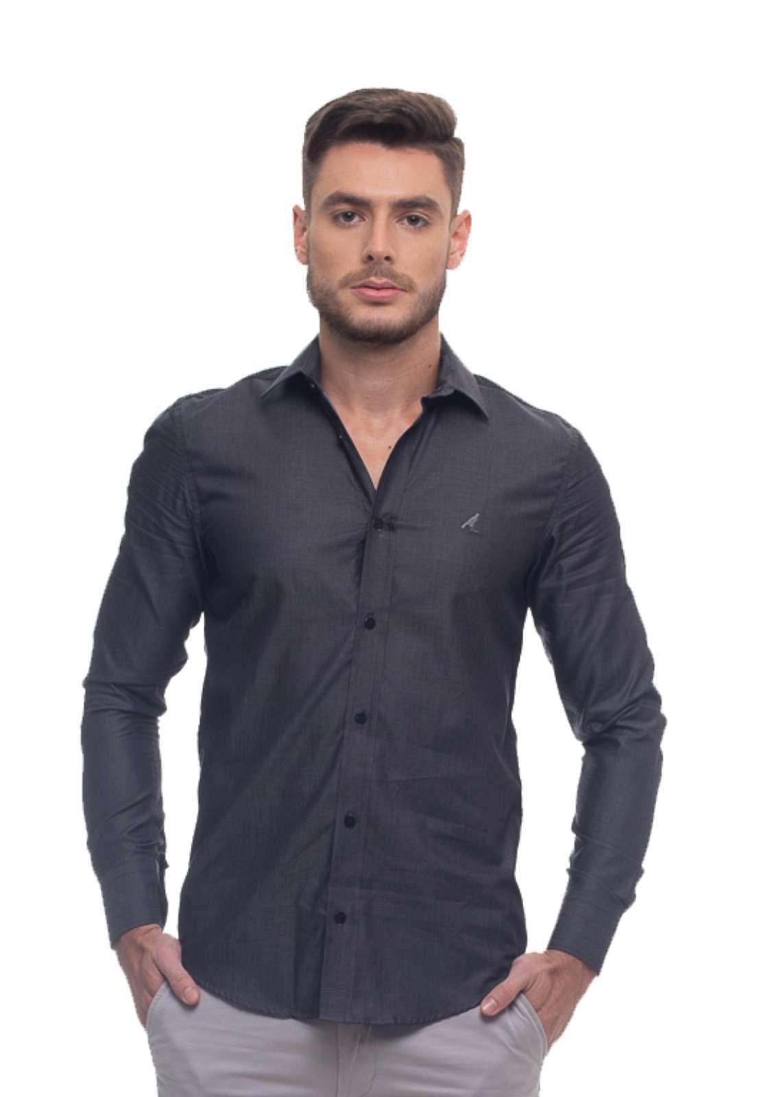 KIT 3 Camisas Slim