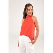 Regata com Pregas Silk Touch