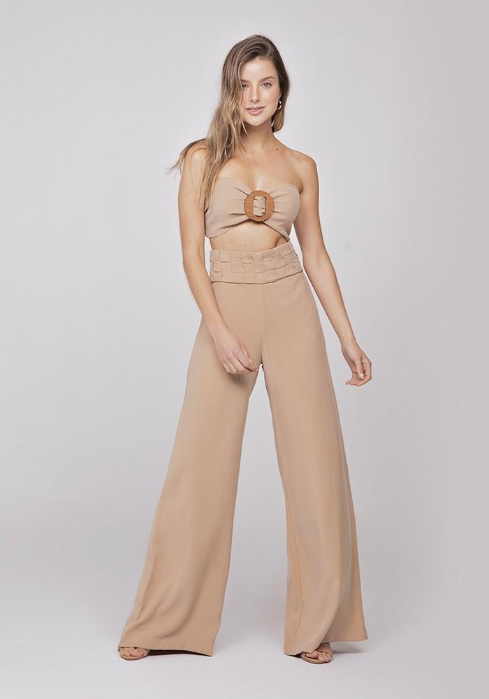 Calça Pantalona Fine Touch