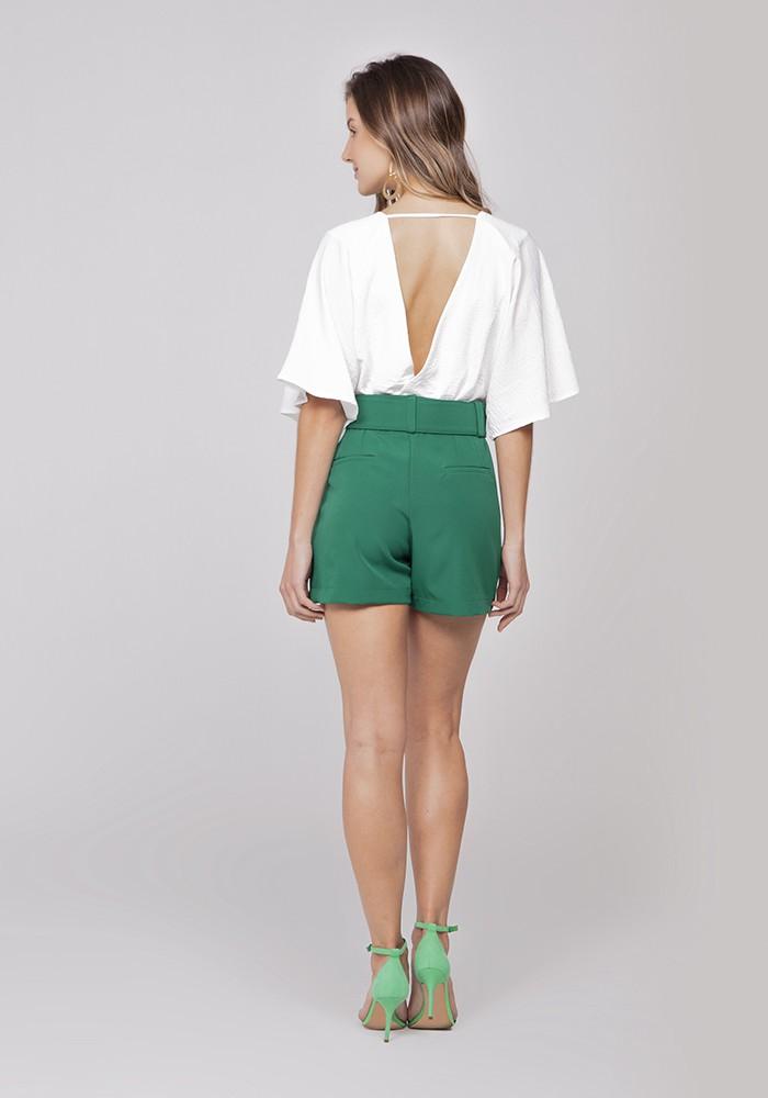 Shorts Alfaiataria Soho com Cinto