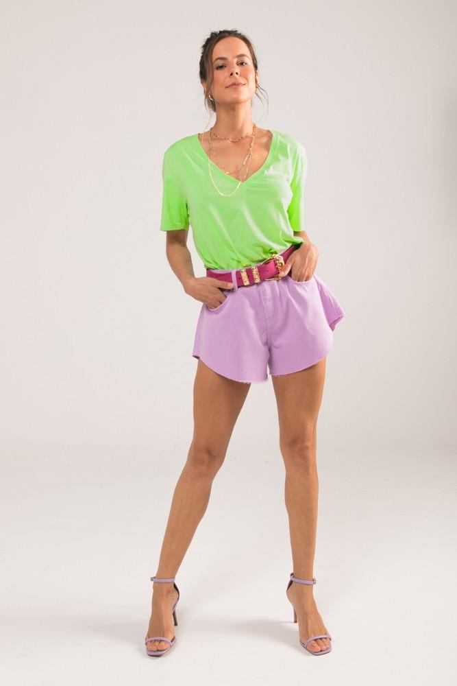 Shorts Godê Colors Lilás