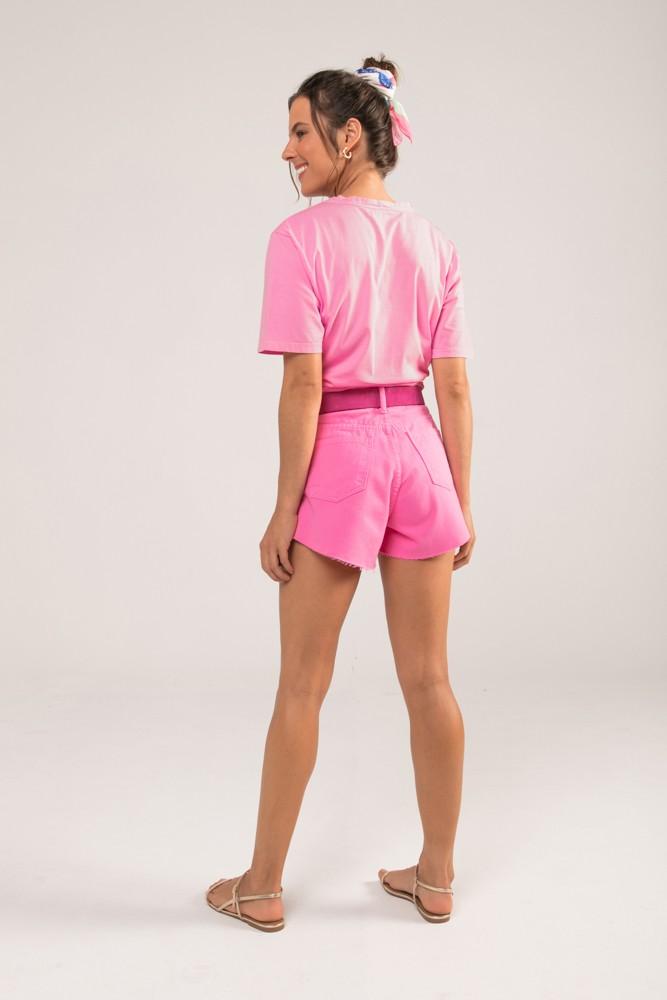 Shorts Godê Colors Rosa