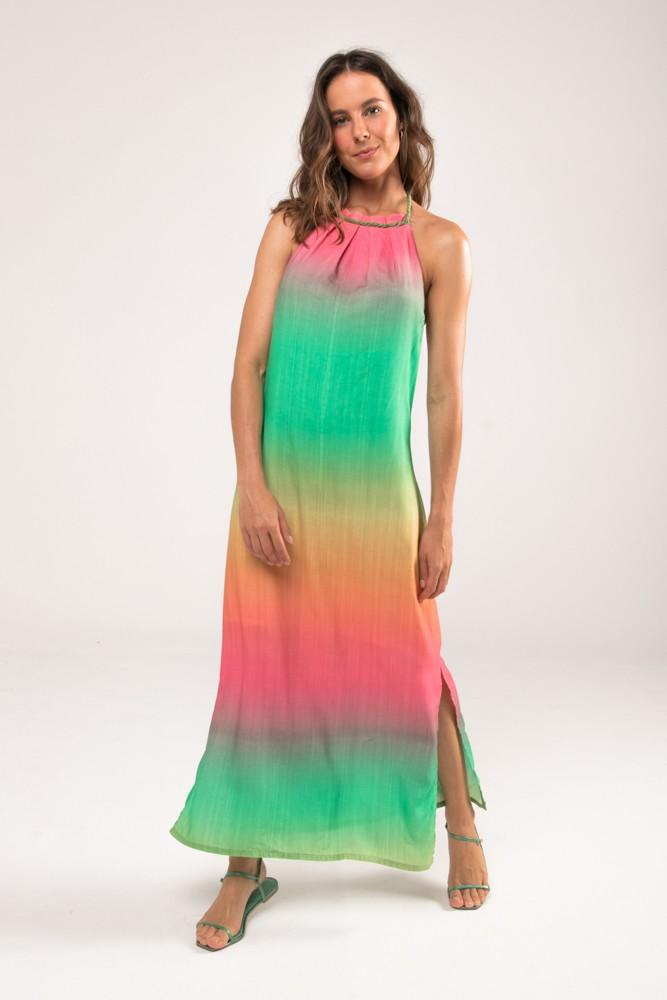 Vestido Midi Ombre