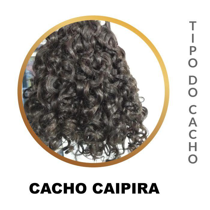 Cabelo Natural Permanente Castanho Escuro 100gr.