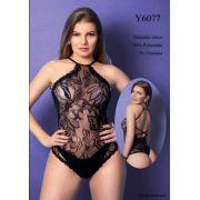 BODY YAFFA Y6077 PRETO