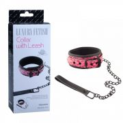 COLEIRA LUXURY COM CORRENTE - COLAR WITH LEASH - SM006