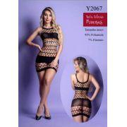 MINI VESTIDO -YAFFA Y2067