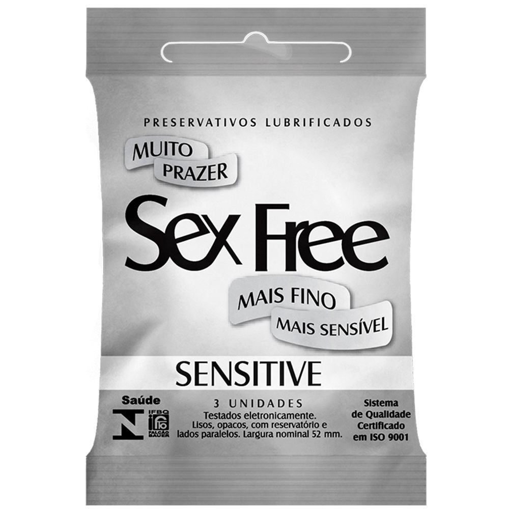 PRESERVATIVO SENSITIVE SEX FREE