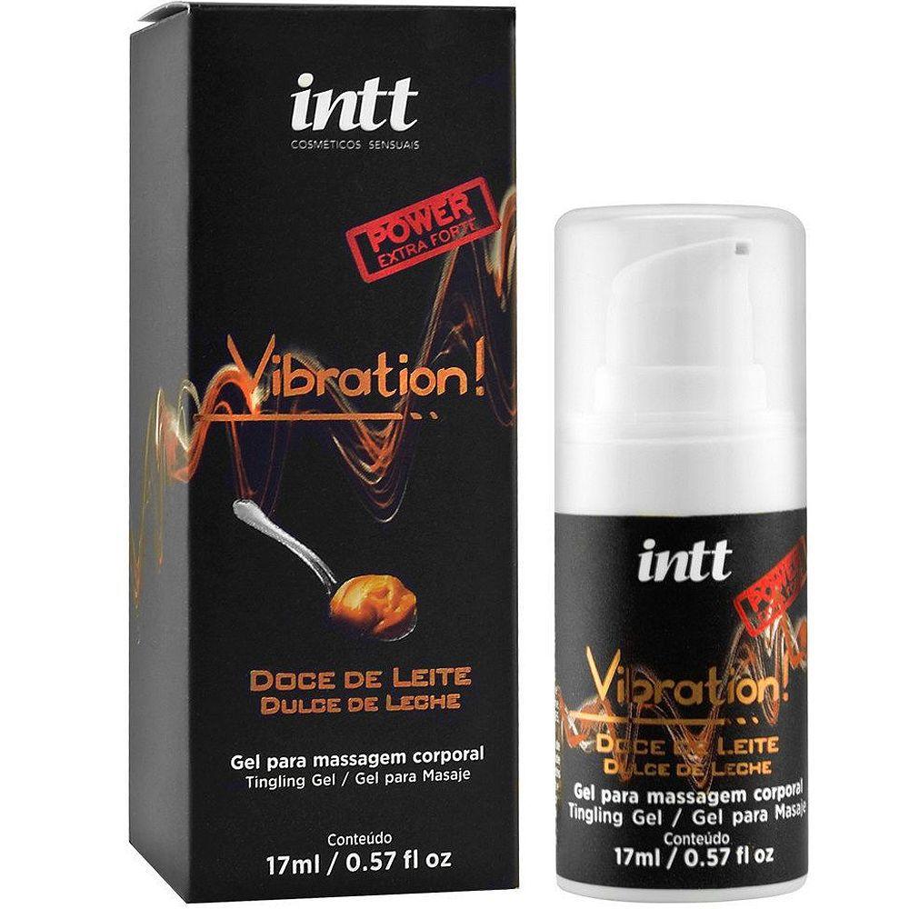 VIBRATION DOCE DE LEITE POWER EXTRA FORTE AROMÁTICO 17ML INTT