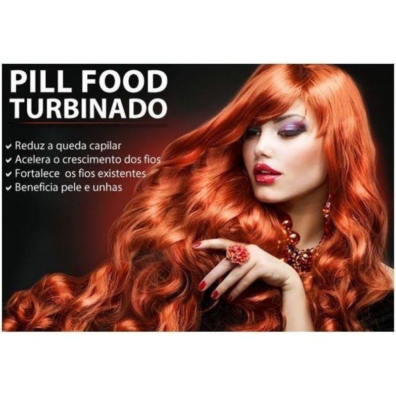 Pill Food turbinado ( MSM + SILICIO) - 60capsulas