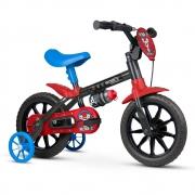 Bicicleta Aro 12 Infantil Masculina Nathor Mechanic 2 A 5 Anos