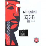 Cartão de Memória Kingston Canvas Select MicroSD 32GB Classe 10 - SDCS/32GB