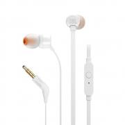 Fone de Ouvido Com Fio JBL Tune 110 - Branco