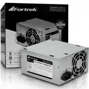 Fonte 200W Fortrek - Padrão ATX - Sem Cabo - PWS-2003