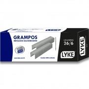 Grampos Galvanizado 26/6 Lyke - Caixa com 5000 Unidades