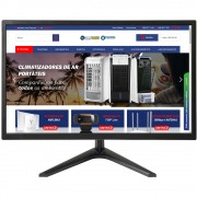 Monitor BRX 19 LED HDMI VGA PZ0019HDMI - Preto