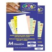Papel Especial Opaline Branco 120g A4 50 Folhas Off Paper