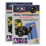 Papel Fotográfico High Adesivo 135g A4 20 Folhas Off Paper