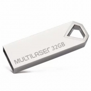 Pen Drive Diamond, 32GB, Metálico, PD851 - Multilaser