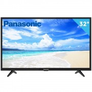 "Smart TV 32"" Panasonic LED HD TC-32FS500B Media Player com Função Mirroring DTV 2 HDMI 2 USB"