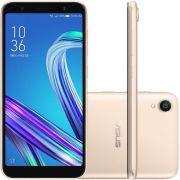 """Smartphone Asus Zenfone Live L2 32GB 2GB RAM Tela 5.5"""" OctaCore Câmera 13MP - Dourado"""
