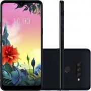 "Smartphone LG K50s 32GB Dual Chip Android 9.0 Tela 6.5"" Octa Core 2.0GHz 4G 13MP + 5MP + 2MP - Preto"
