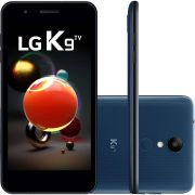 "Smartphone LG K9 TV Dual Chip Android 7.0 Tela 5"" Quad Core 1.3 Ghz 16GB 4G Câmera 8MP - Indico"