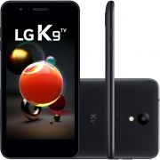 "Smartphone LG K9 TV Dual Chip Android 7.0 Tela 5"" Quad Core 1.3 Ghz 16GB 4G Câmera 8MP - Preto"