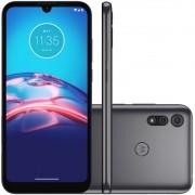 "Smartphone Motorola Moto E6S 32GB 4G Octa-Core 2GB RAM 6,1"" Câm. Dupla + Selfie 5MP - Titanium"