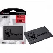 SSD Kingston A400, 120GB, SATA, Leitura 500MB/s, Gravação 320MB/s