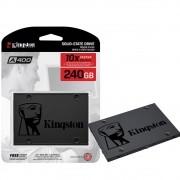 SSD Kingston A400, 240GB, SATA, Leitura 500MB/s, Gravação 350MB/s - s - SA400S37/240G