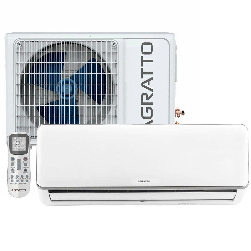 Ar Condicionado Agratto Split Hi-Wall NEO Inverter 9000 BTUs Frio - NEO-ICS9FIR4-02 - 220V