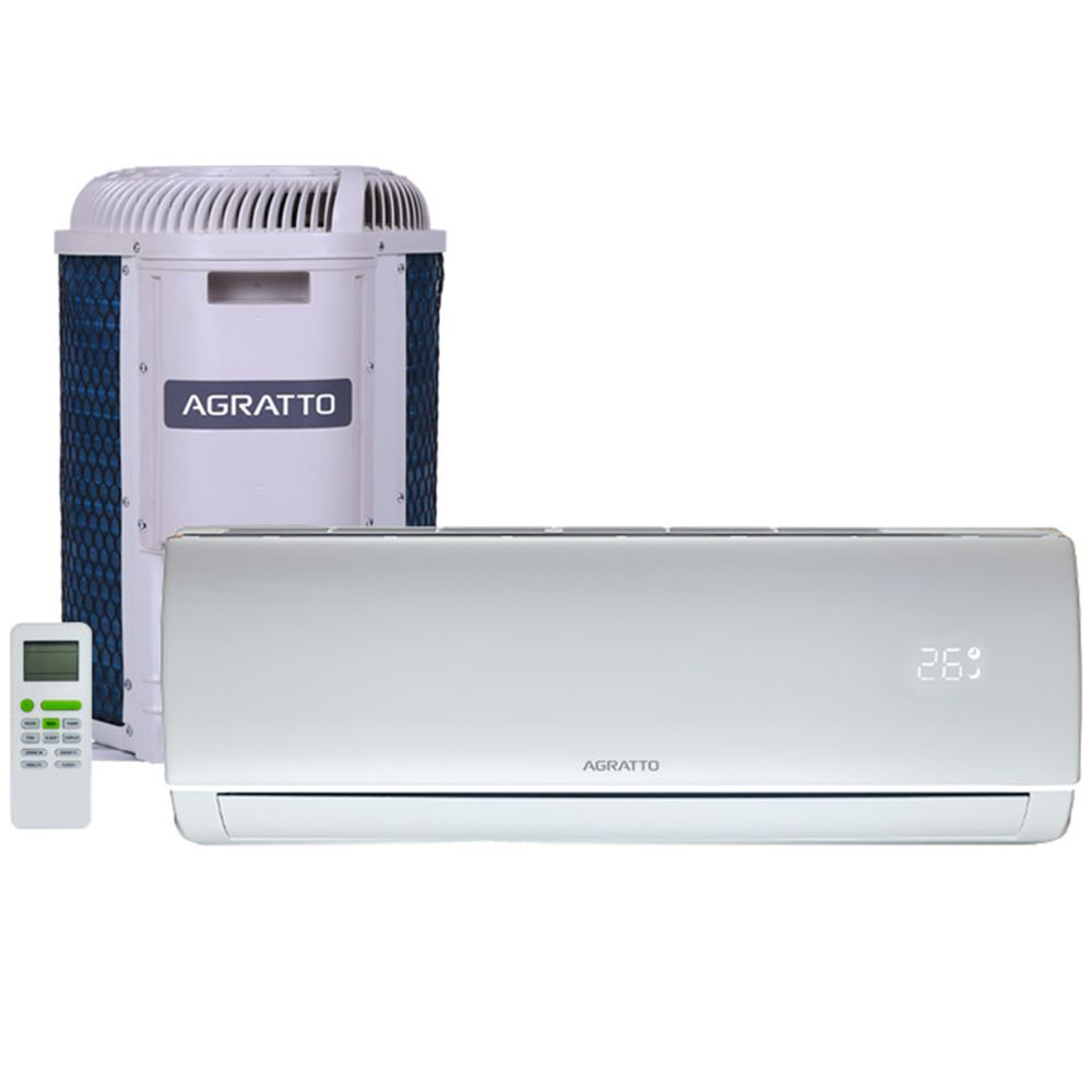 Ar Condicionado  Agratto Split Hw On/off Eco Top 9000 Btus Frio 220V Monofasico ECST9FR4-02