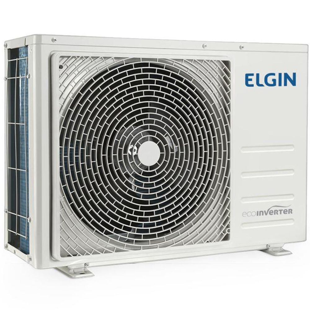 Ar Condicionado Elgin Split High Wall Eco Inverter Frio 12000 Btu 45HVFI12B2IB / 45HVFE12B2NB - 220V