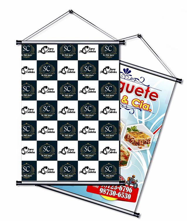 Banner/faixa frente 1400X2000mm
