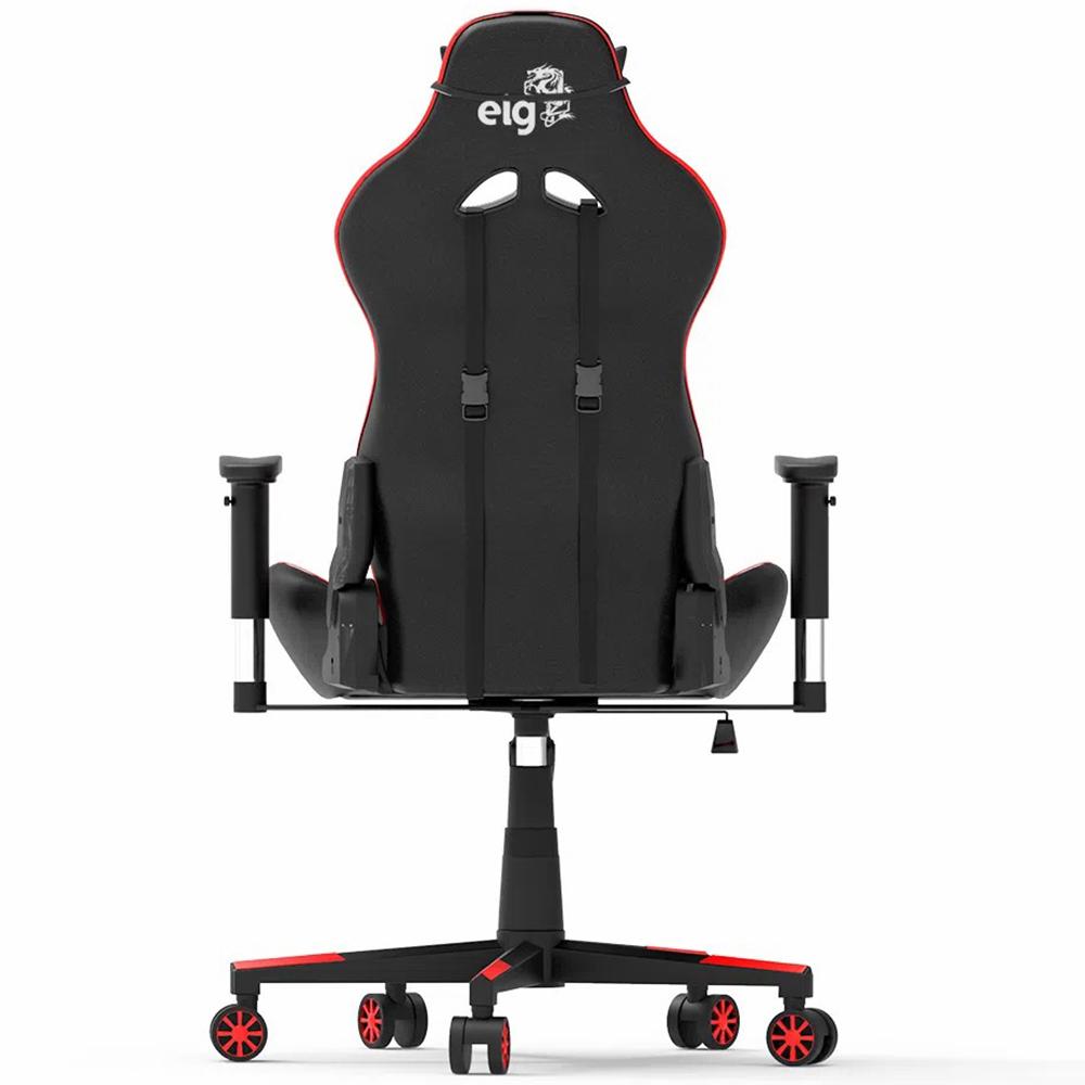 Cadeira Gamer ELG Black Hawk Vermelho/Preto CH05BKRD