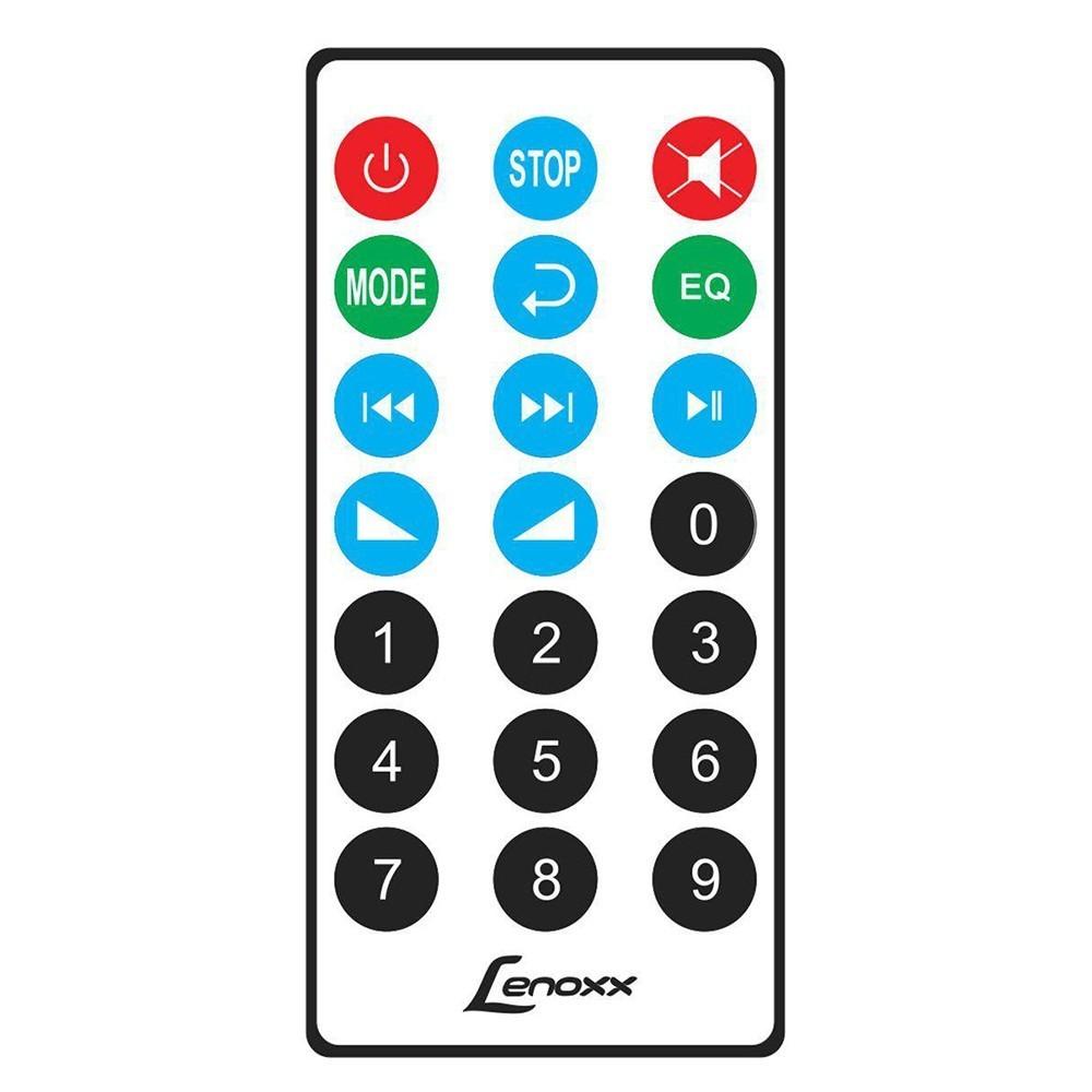 Caixa de Som Bluetooth Lenoxx BT 560 Portátil 60W USB - Preta