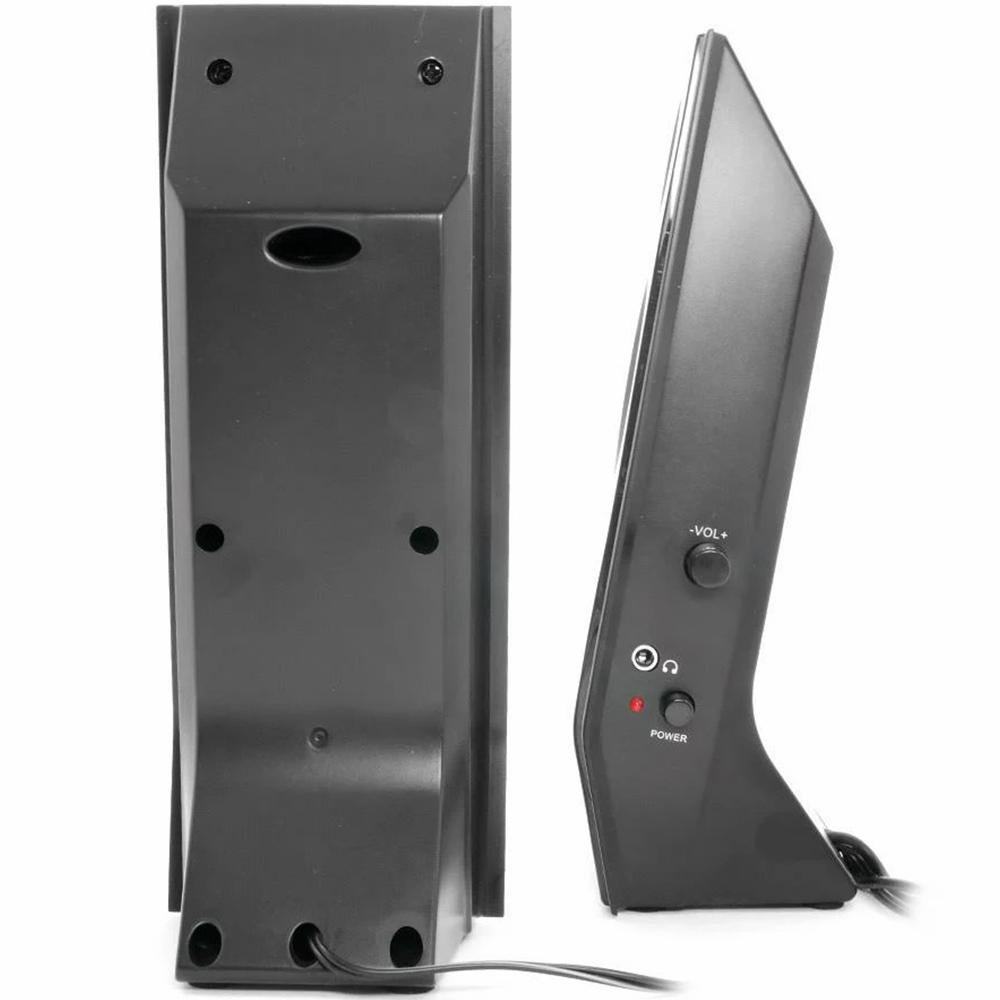 Caixa De Som Multilaser Shadow 20 Usb 8W Rms Black Piano - SP091