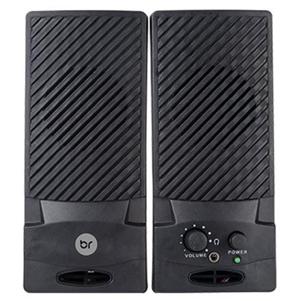 Caixa de Som Para Pc USB 1W de Potencia Com Controle de Volume - Bright