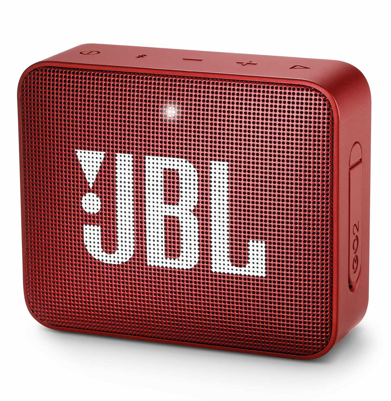 Caixa de Som Portátil Bluetooth JBL GO 2 - Vermelha