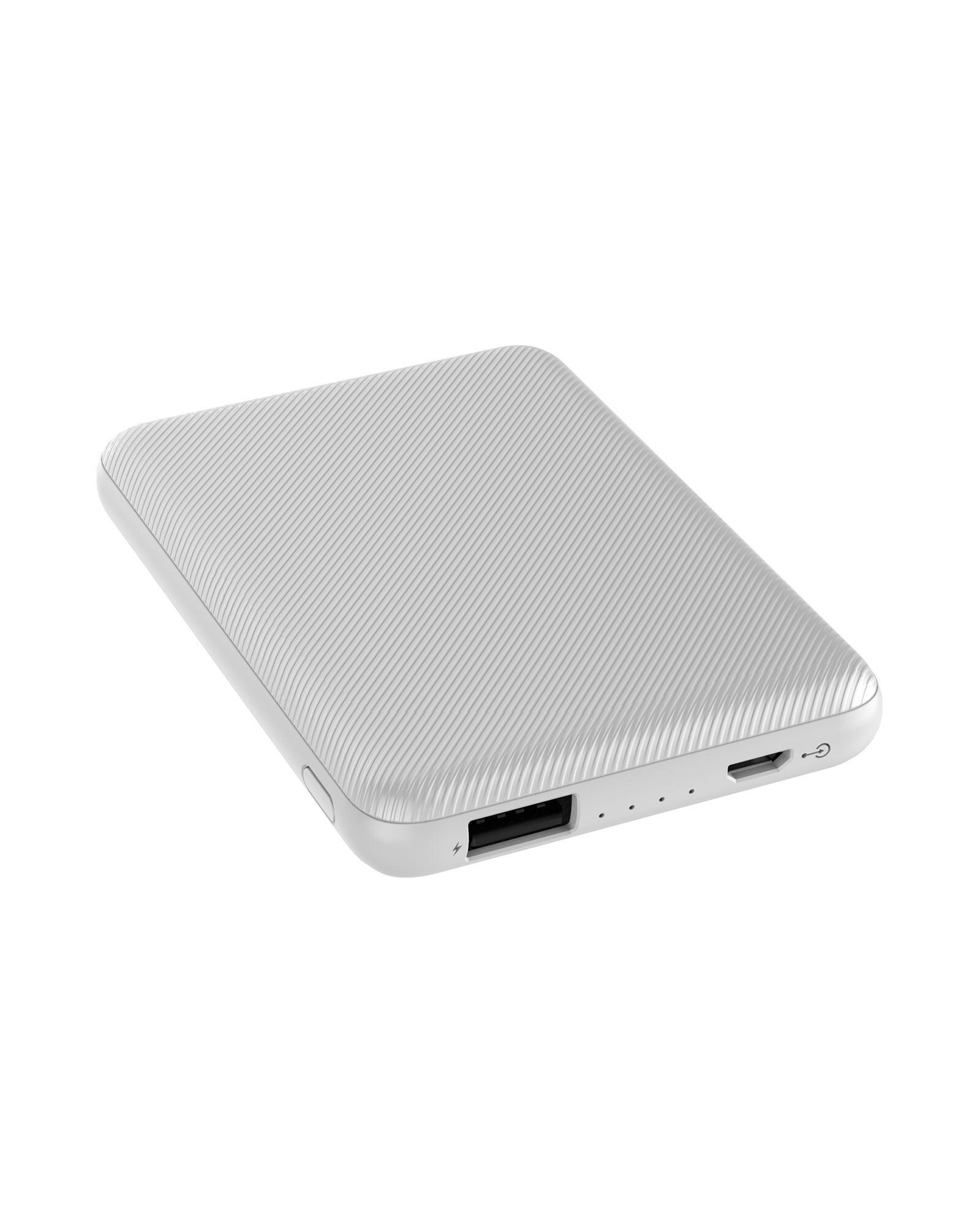 Carregador portátil compacto 5.000mAh Xtrax branco