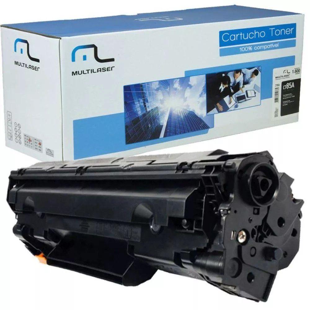 Cartucho toner compatível HP M-1210, M-1130, M-1217, M1217FW, P1109/W, P1102/W, M1132, M1212
