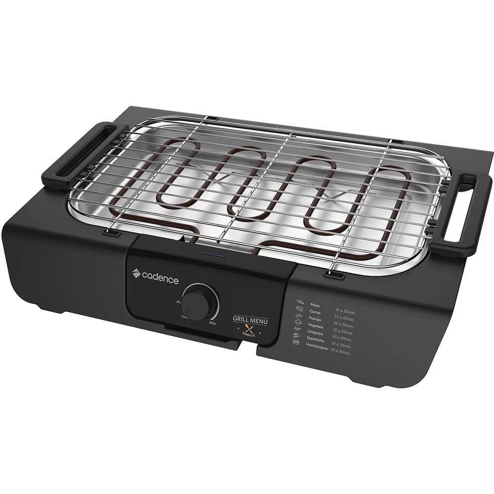 Churrasqueira Elétrica Grill Menu GRL810 220 Volts - Cadence