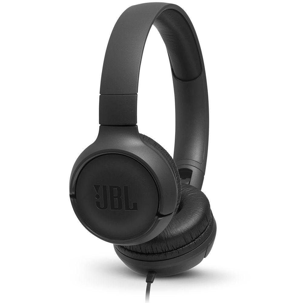 Fone de Ouvido com Microfone JBL Tune 500 - Preto