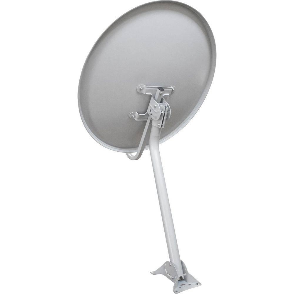 Kit Antena Elsys ETKI19 Chapa 75Cm Banda Ku Com LNBF E Kit Cabo 15M